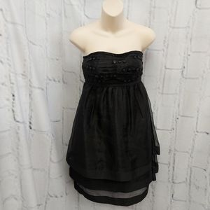 max and cleo Black Short Dress Size S